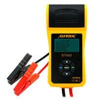 TLXC автомобильный тестер батареи с принтом 12 В 24 в цифровой автоматический анализатор CCA Авто Портативный аккумулятор измерения для ремонтн