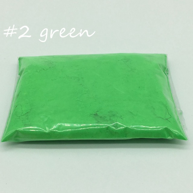10g, fluorescente Polvos de maquillaje, pigmento Polvos de ...