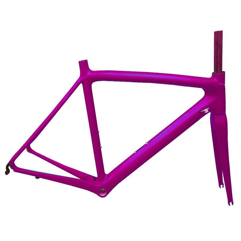 EARRELL Road-Bike-Frame Ultralight Full-Carbon-Fiber Free DI2 with Seatpost Frok Headset