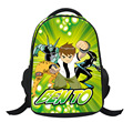 2017 Fashion Cartoon Ben 10 Grade1-6 Primary School Bags Kids Backpack Teenagers Boys Girls Mochila Children Schoolbags Satchel