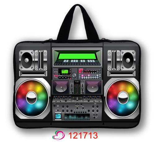 "Boombox Soft Carry Sleeve Case Bag For 13"" 13.3"" Macbook Pro Air HP Dell Laptop PC"