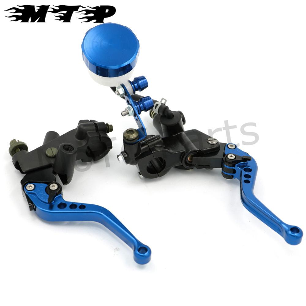 CNC Front Clutch Levers Brake Master Cylinder Fluid Reservoir Adjustable for Honda CB1300/ABS ST1300 NC700S/700X 7/8 Handlebars for honda cb1000 cb1100 cb1300 cbf1000 motorcycle front brake clutch master cylinder fluid reservoir cover cap
