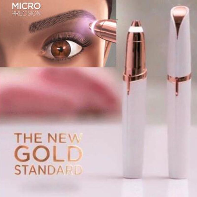 Electric Face Brows Hair Remover Epilator Lipstick Shape Mini Eyebrow Shaver Instant Painless Portable Epilator Dropshipping цена 2017