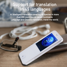 Translator HC-T3 Portable WIFI Smart Voice Language Translator Intelligent Real Time Translator 49 Language Travel Traductor portable smart voice translator wifi instant voice translator real time 45 multi language translation traductor for business