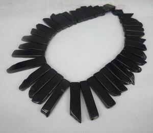 Black Lemon Imperial Emperor Pendant Gems Point Necklaces Druzy Pendant Beads Jewelry for Art Lady