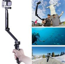 Portable Digital Camera tripod monopod  stabilizer stand holder Magic Mount Selfie Stick for GoPro SJ4000 SJ4000 Action Camera