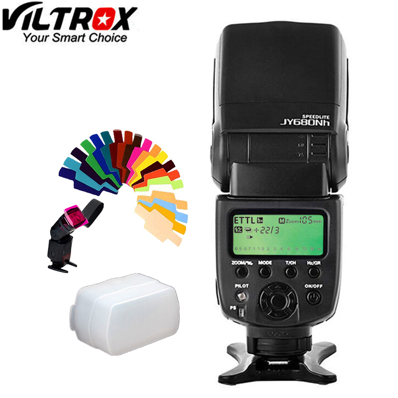 Viltrox JY 680NH GN58 Speedlite TTL 1 8000s HSS Camera flash with LCD Screen Support For