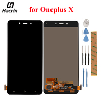 For Oneplus X LCD Screen 100 New FHD 5 0inch 1920X1080 Lcd Display With Touch Panel