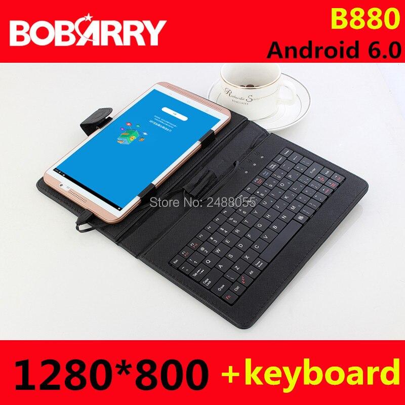 8 pulgadas bobarry b880 1280*800 Dual 4G teléfono Tablets mtk8752 octa Core Tablets PC Android 6.0 4 GB RAM 64 GB rom gps OTG