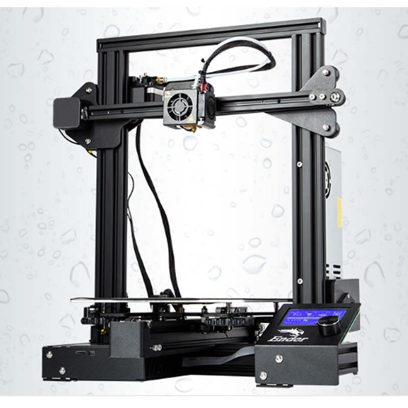 Ender 3 o ender 3 PRO 3D Printer Creality DIY Kit auto ensamblado con mejora de la potencia de impresión de CV/para PLA PETG ABS NYLON/ - 3