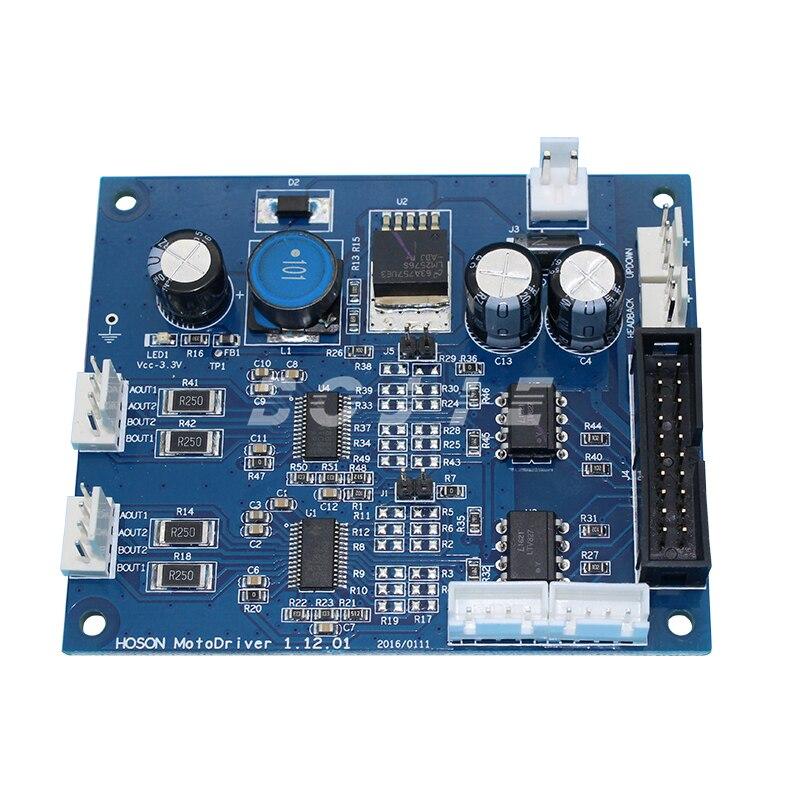 XP600 head motor driver board for Zhongye inkjet printer digital printer zhongye 16h carriage board for seiko print head
