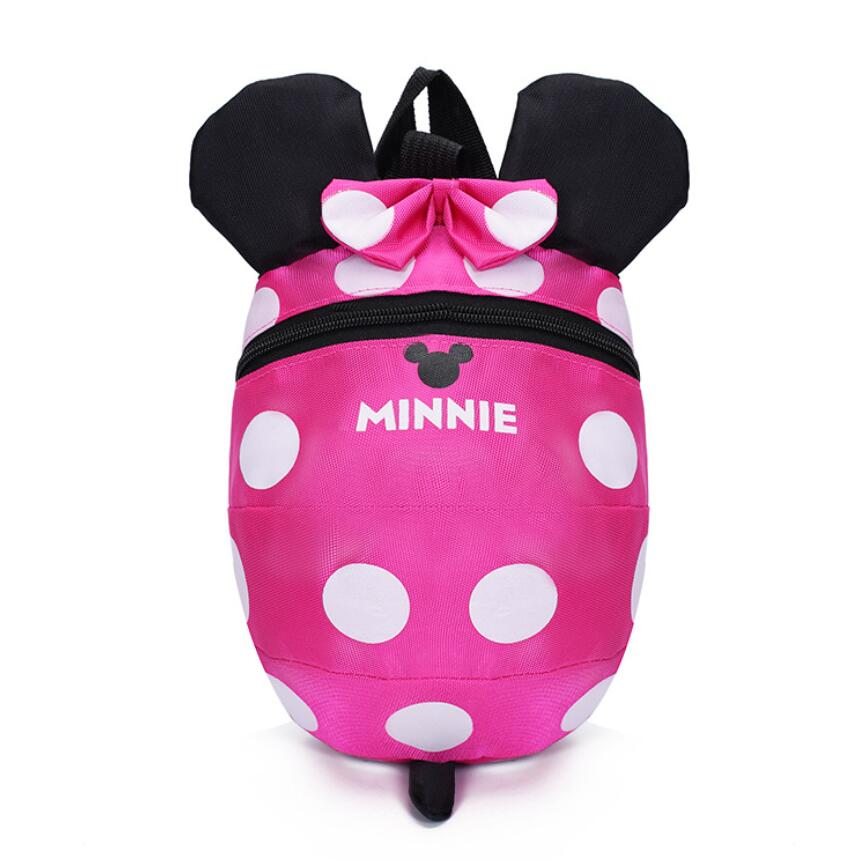 Cartoon style school bag cute Minnie and Mickey drawstring cute backpack children schoolbags for girls kindergarten bag children school bag minecraft cartoon backpack pupils printing school bags hot game backpacks for boys and girls mochila escolar