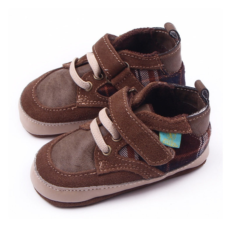 Baby Boys Shoes Flock Newly Soft Sole Shoes Sneakers ...