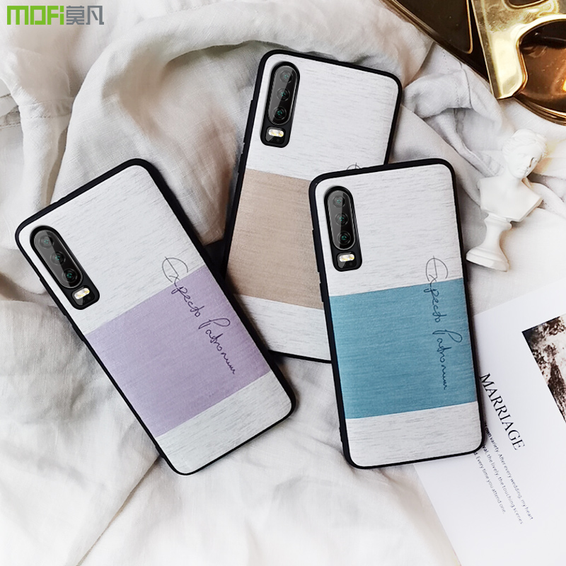 for Huawei P30 Pro case cotton cloth with soft touch P30pro back cover MOFi shockproof protect capas P30 cases