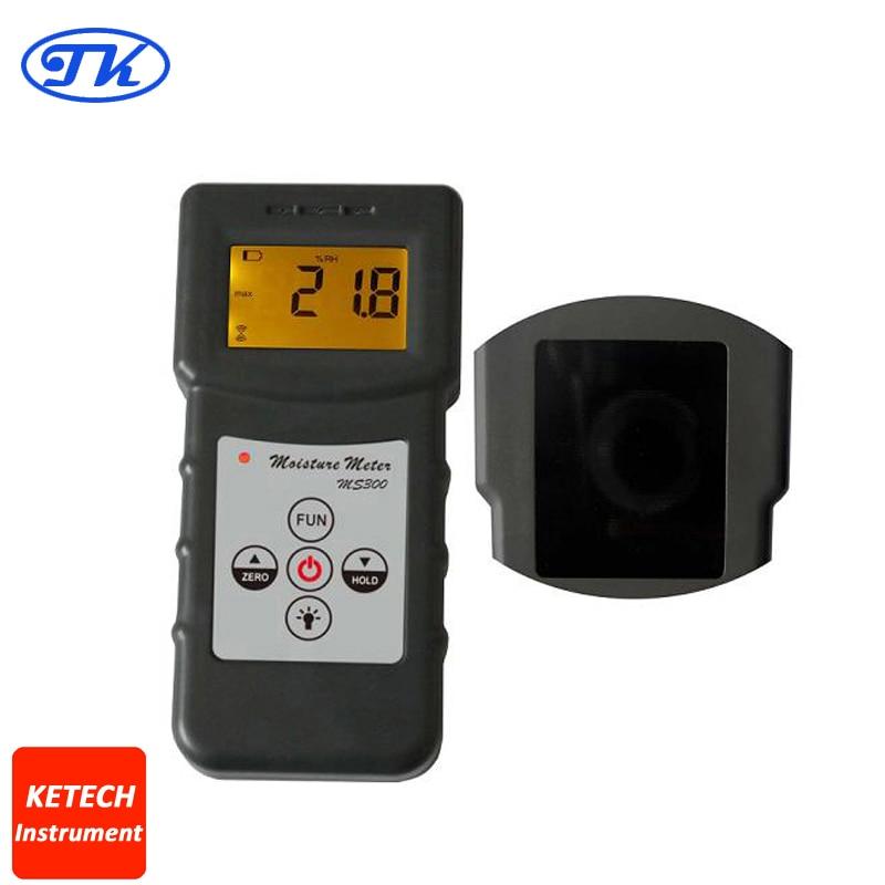 MS300 Digital Portable Concrete Moisture Meter mc 7806 digital moisture analyzer price with pin type cotton paper building tobacco moisture meter