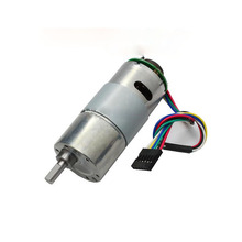 Encoder deceleration DC motor, 37GB-545 high torque, with encoder slow motor 6V-24V