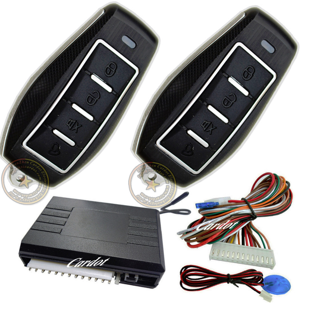 new remote keyless entry is with car shape metal alarm remotes,central lock or unlock by remote,auto cloer window output,CE pass
