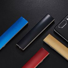 Usb Rechargeable Lighter Windproof Ultra-Thin Electric Heating Wire Men And Womens Personal Gift Electronic Cigarette