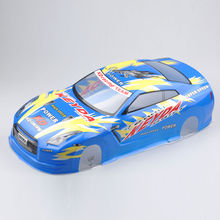190MM 1/10 Scale RC Drift Car PVC Painted Car Body Shell+Light Cup + Rear Wing Model Toys Gifts   Collections