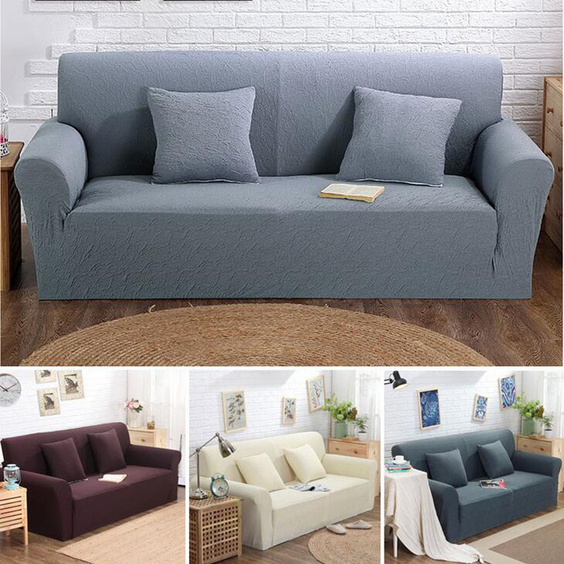 Aliexpresscom Buy Simple style all inclusive sofa cover double