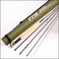 Fishing Tackle World 5 Sections Travel Fly Rod 9 Wt5 Wt6