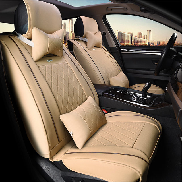 Online Shop Full Seats Leather Car Seat Covers For Tesla Model S