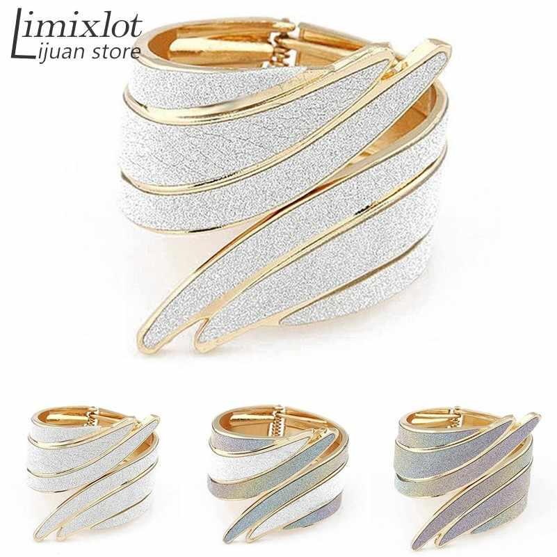 ... Imixlot Colorful Irregular Arm Cuff Bracelets Hippie Punk Rock Big  Bangles For Women Fashion Jewelry New ... b17af3edb7f2