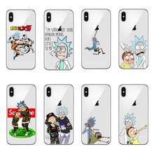 innovative design 2855e 8b6c1 Buy rick and morty phone cover and get free shipping on AliExpress.com