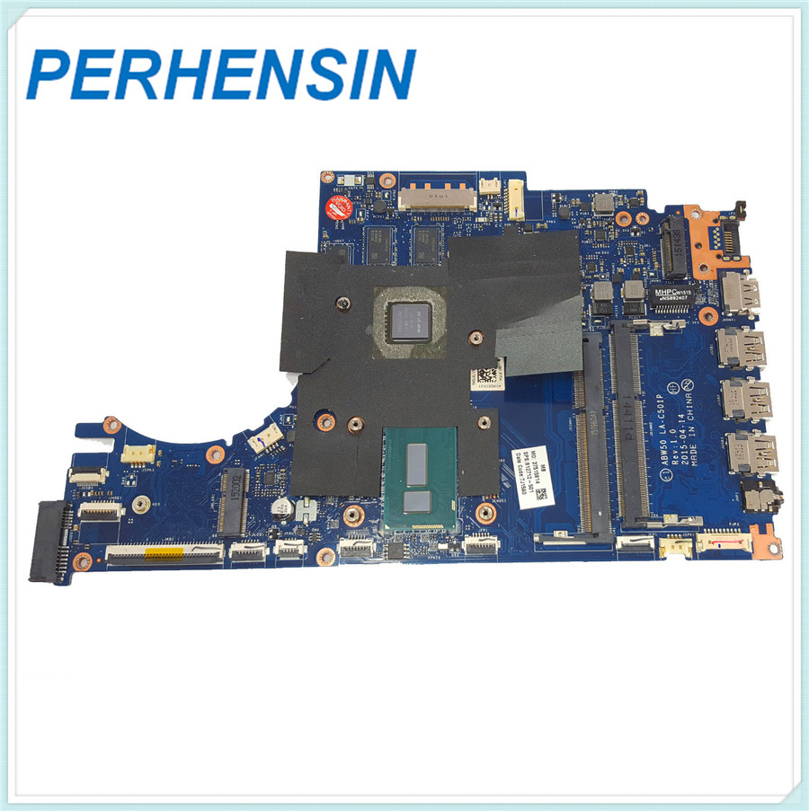 Motherboard FOR HP FOR Envy 15 AE001NP LA C501P 812712 501 812712 001 i7 5500U 100