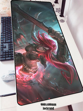 Katarina mouse pad 900x400x2mm pad mouse lol notbook computer mousepad Sinister Blade gaming padmouse gamer keyboard mouse mats
