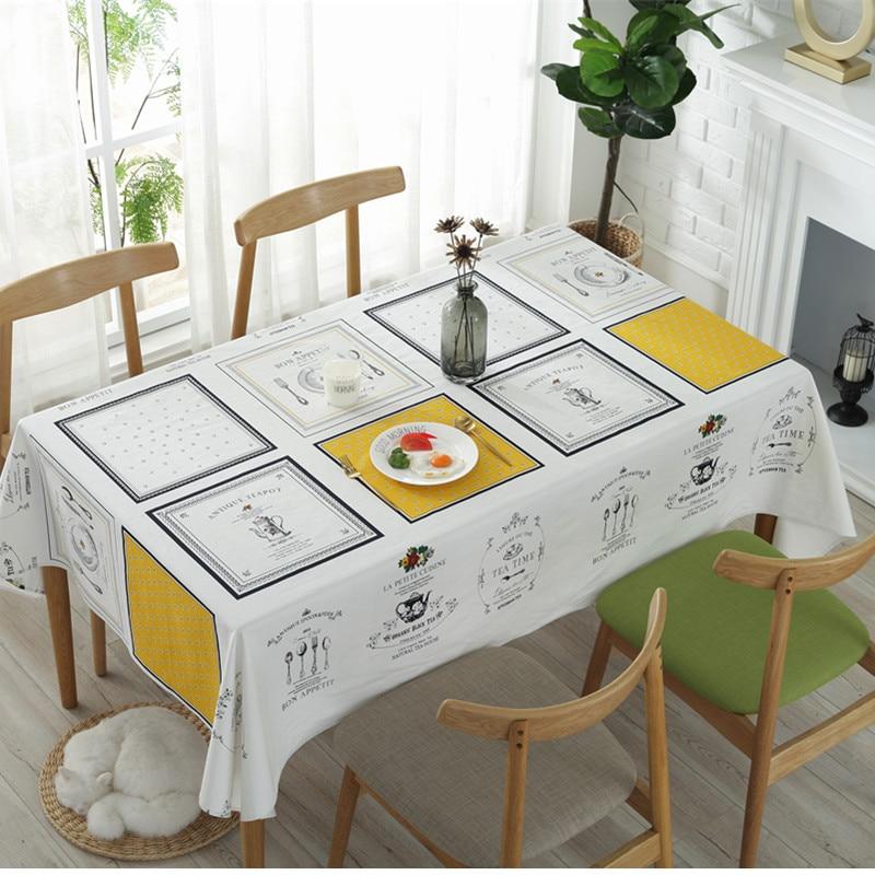 Прямоугольная скатерть в скандинавском стиле, хлопковые клетчатые скатерти с принтом, декоративная накидка на кухонный обеденный стол для кафе, вечеринки, свадьбы|Скатерти| | АлиЭкспресс