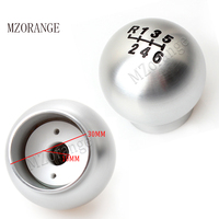 MZORANGE 6 Speed Gear Shift Knob New Alumium Sport Racing Manual Transmission Gear Shift Knob For Ford Focus ST For Fiesta ST