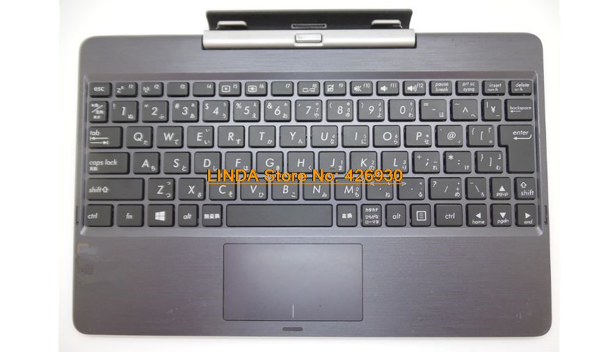 Laptop Keyboard base For ASUS T100TA T100TAL-3735 T100TAM-B-64S gray used JP/US Bluetooth Keyboard Case rtdpart laptop keyboard base for asus t100 t100ta us the united states black 95