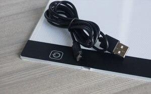 Image 5 - 調光対応! 超薄型A4 ledライトタブレットパッドに適用eu/イギリス/au/us/usbプラグダイヤモンド刺繍ダイヤモンド塗装クロスステッチキット