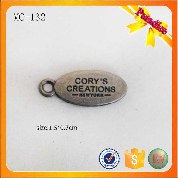 f9a04e615557e US $180.0 |MC132 Oval shape garment nameplate custom metal jewelry tag for  bracelet/necklace-in Garment Tags from Home & Garden on Aliexpress.com | ...