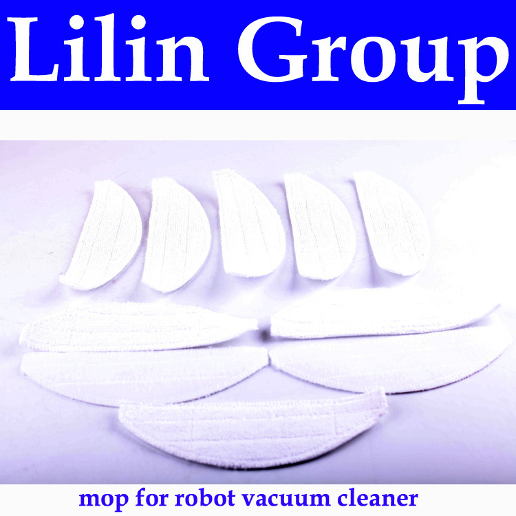 (For LL-D6601) Mop for Robot Vacuum Cleaner LL-D6601, 10pcs/pack, Sweeping Tool Accessories for ll d6601 side brush for robot vacuum cleaner 10pcs pack vacuuming tool accessories