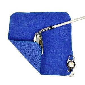 Image 5 - Golf Handtuch Baumwolle Mini reinigen für golf clubs werkzeug Drei farben sind optional