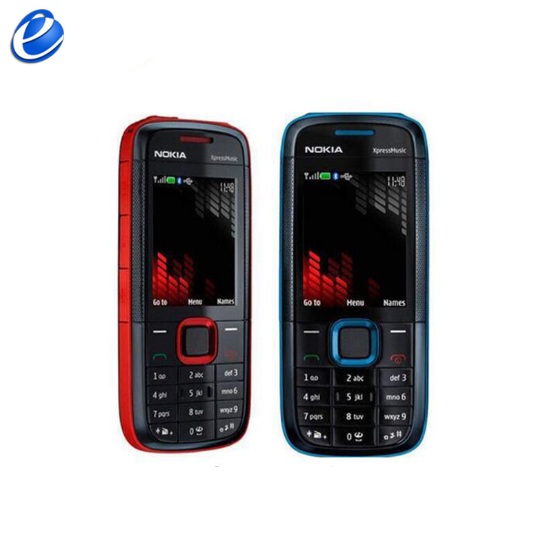 Nokia 5130xm Original Xpress GSM Refurbished Cellphone Music Russian With Multi-Languages