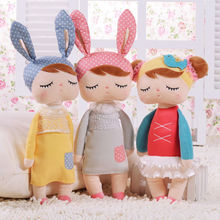 New Cute Metoo Angela Sleeping Birthday Girl Stuffed Plush Baby Small Toys Gift Doll 1pcs new genuine 50cm metoo cartoon angela plush toys cute dolls girl for birthday christmas children gifts