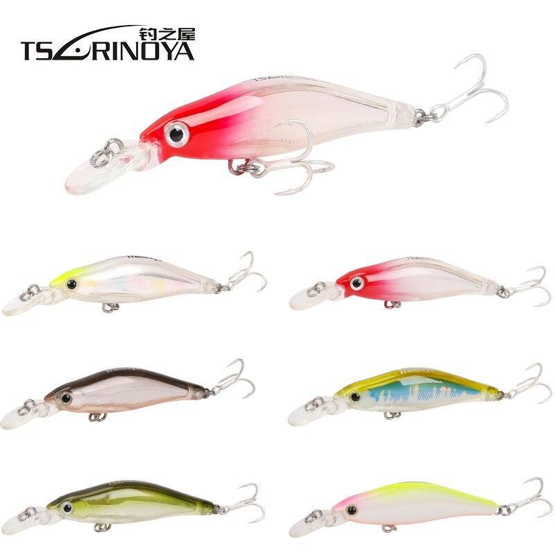 Minnow FISHING Leurre de surface Diver Pike Bass Bait jerkbait Plug Leurre Crank