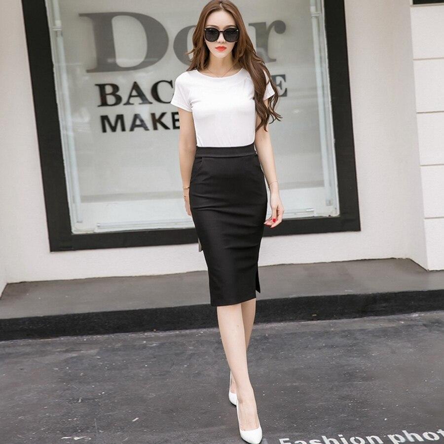 2018 Σέξι φόρμα γυναικών φούστα Slim Bodycon - Γυναικείος ρουχισμός - Φωτογραφία 6