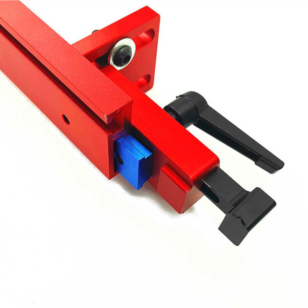 Фиксированная Т-образная направляющая для резки стоп локатор раздвижные кронштейны деревообрабатывающий круг фиксатор желобчатая подложка Соединитель Инструмент для деревообработки