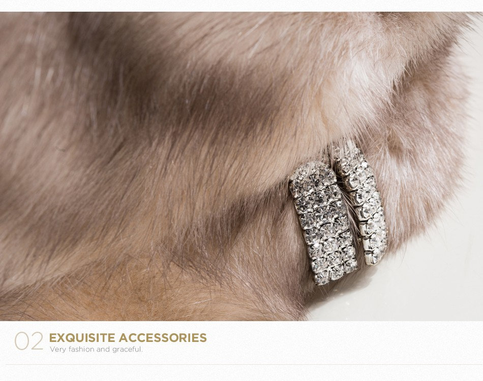 mink fur hat female winter PCM027 (7)