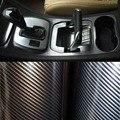 30*152cm  Car Glossy 2D sticker Carbon Fiber Vinyl Foil Carbon Fiber Wrapping Film High Quality Calendared PVC For Car