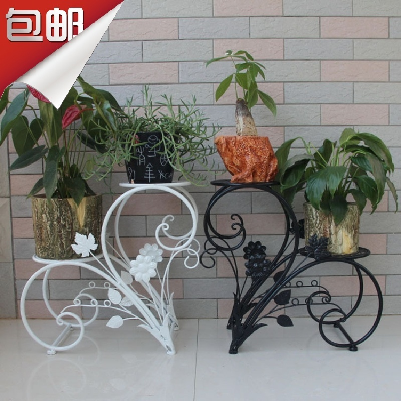 fashion iron flower stand french flower stand white. Black Bedroom Furniture Sets. Home Design Ideas