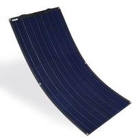 XINPUGUANG 100W 16V 12V Flexible Solar Panel Charger Semi Bendable Water Resistant Solar Charger for RV Boat Cabin Tent Car