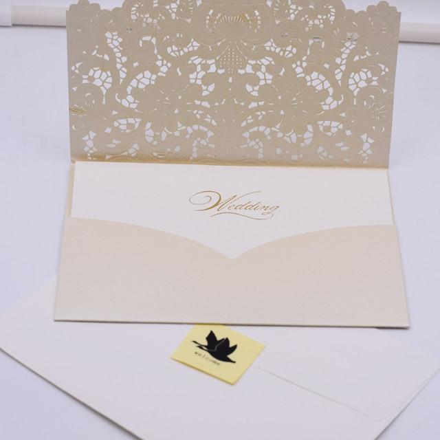 online shop 50set romantic wedding invitation card wedding cards