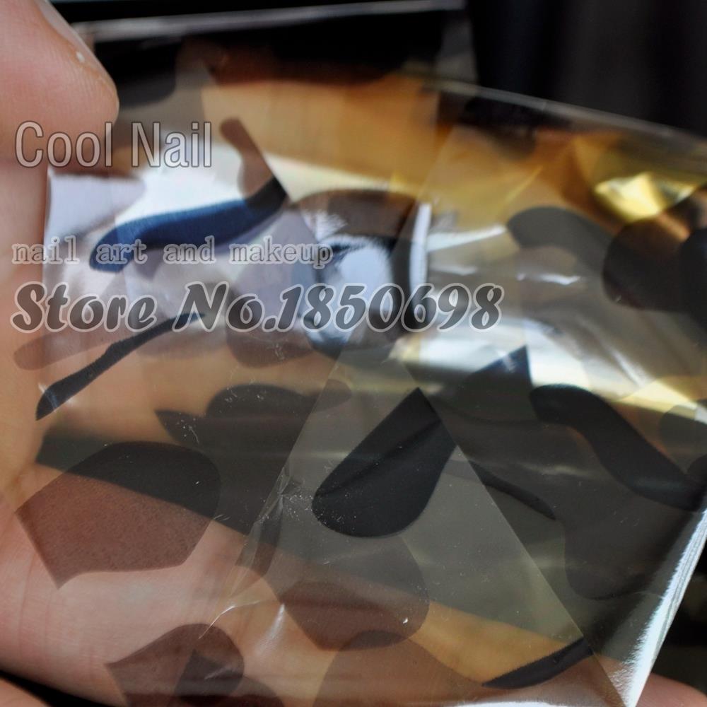 Mode DIY Nagel Design Material Nail art Kleber Aufkleber Full Wrap ...