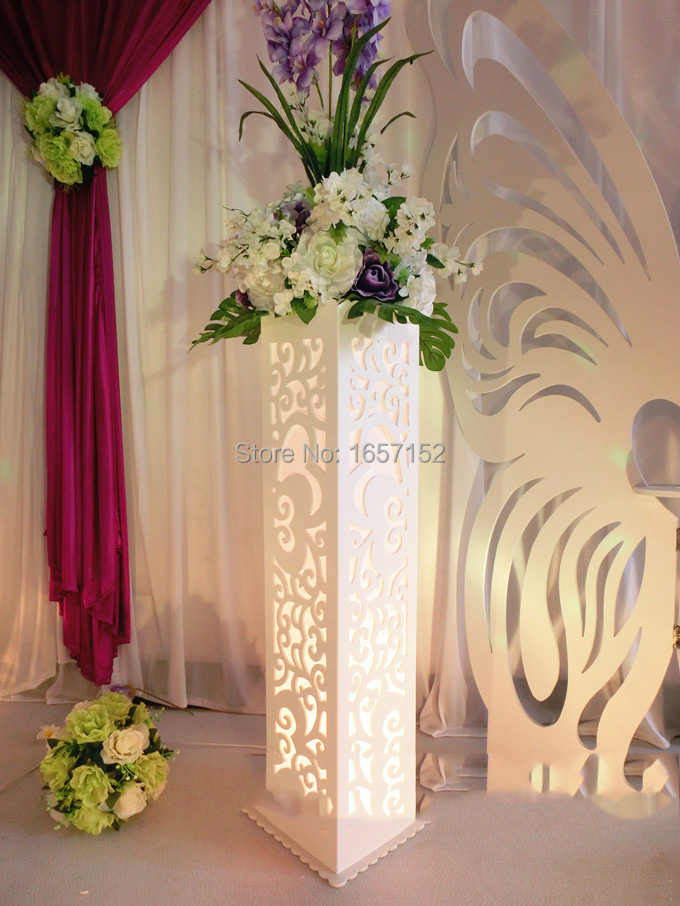 wedding flower stands for sale aliexpress buy wedding carved pillar wedding stand 9523