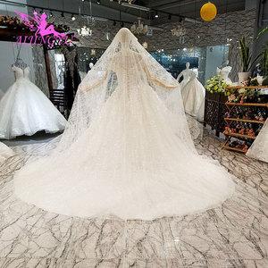 Image 4 - AIJINGYU vestido de boda tul Suiza Medieval fiesta bola tamaño Plus hermoso compromiso Sexy vestidos de novia simples